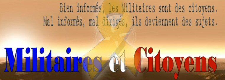 Militaires et citoyens Index du Forum