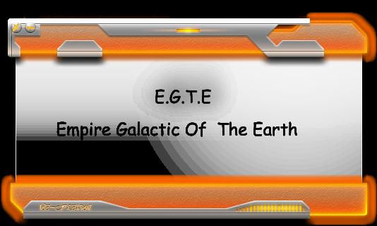 Empire Galactique of The Earth Index du Forum
