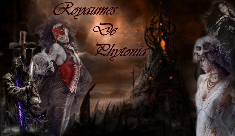 Le royaume noir de phytonia Index du Forum