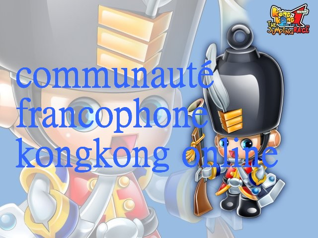équipe de joueurs francones de kongkong online Forum Index