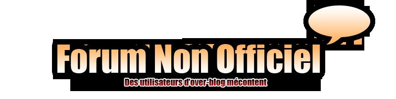 le forum non officiel des utilisateurs over blog Index du Forum