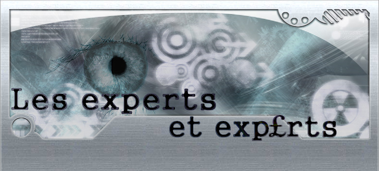 EXPERTS Index du Forum