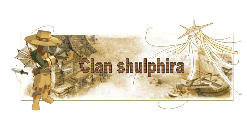 clan shulphira Index du Forum